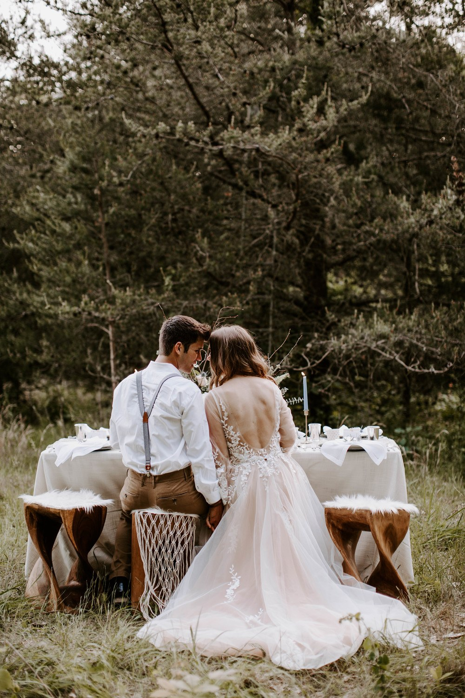 Early Fall Woodland Wedding Inspiration ⋆ Ruffled