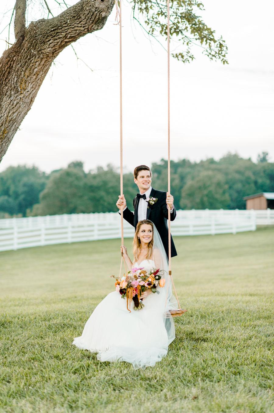 Fashion Designer Wedding with Romantic Elegance - photo by Caroline Lima Photography https://ruffledblog.com/fashion-designer-wedding-with-romantic-elegance