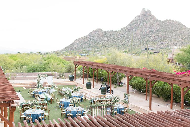 Arizona wedding venues - photo by Amy and Jordan Photography https://ruffledblog.com/feminine-floral-wedding-in-the-arizona-desert
