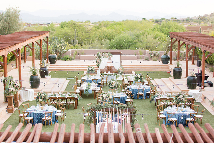Arizona wedding venues - photo by Amy and Jordan Photography http://ruffledblog.com/feminine-floral-wedding-in-the-arizona-desert