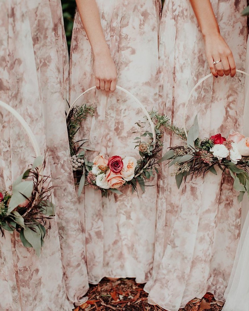 Floral Hoops Roundup Chelsea Diane Photography With Kate Fiore Floral