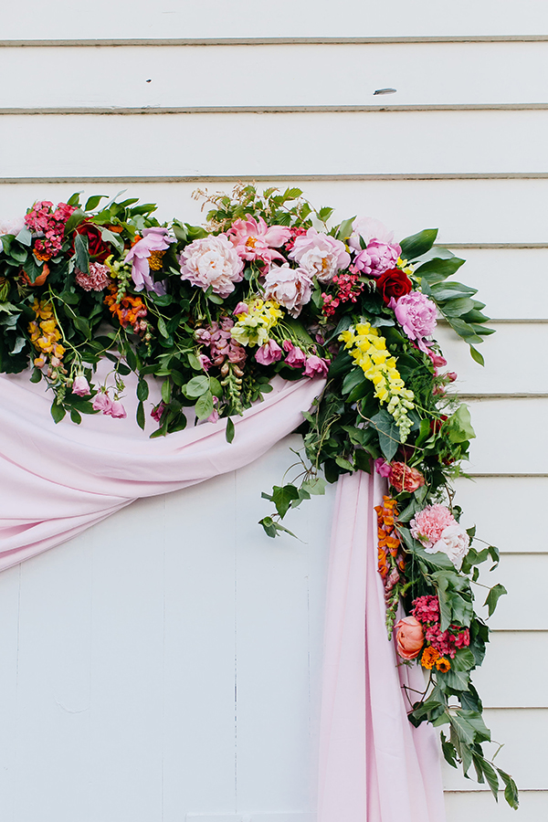 Flower-Filled Wedding Inspiration That's Pretty in Pink