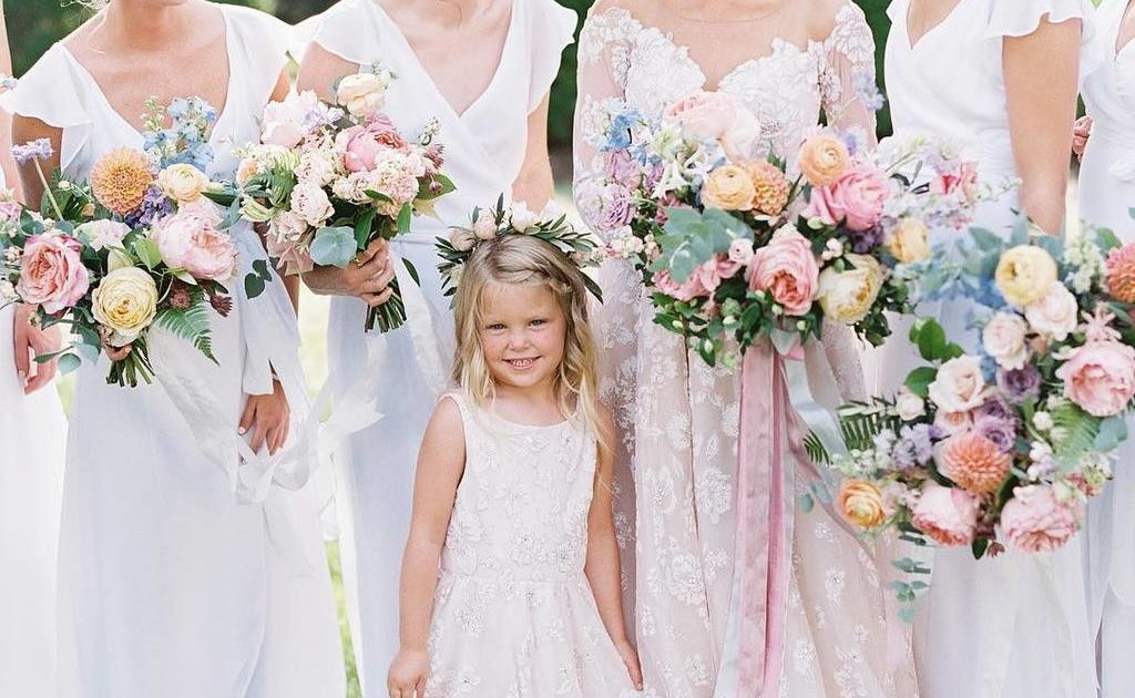 36a89d6b055 27 Charming Flower Girl Dresses for Spring and Summer ⋆ Ruffled