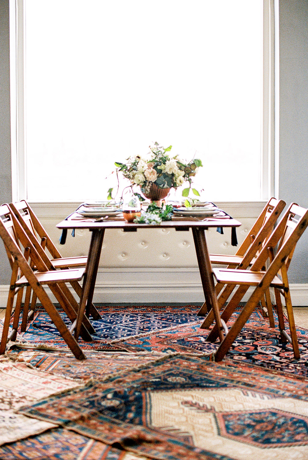 wedding tables - photo by Alexis June Weddings http://ruffledblog.com/for-the-love-of-copper-wedding-inspiration
