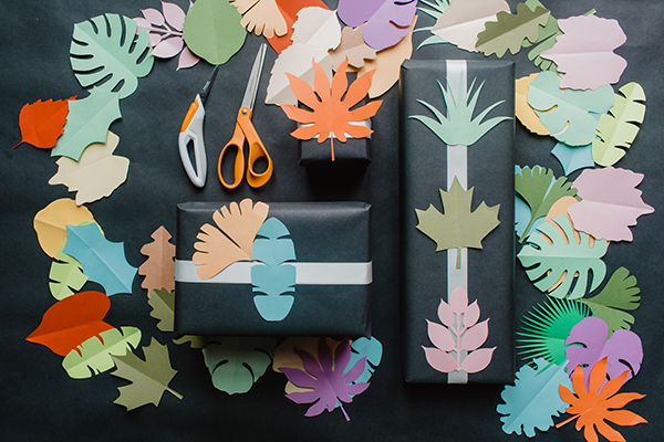 All the Foliage Printables You Will Ever Need in this DIY Cutout Book
