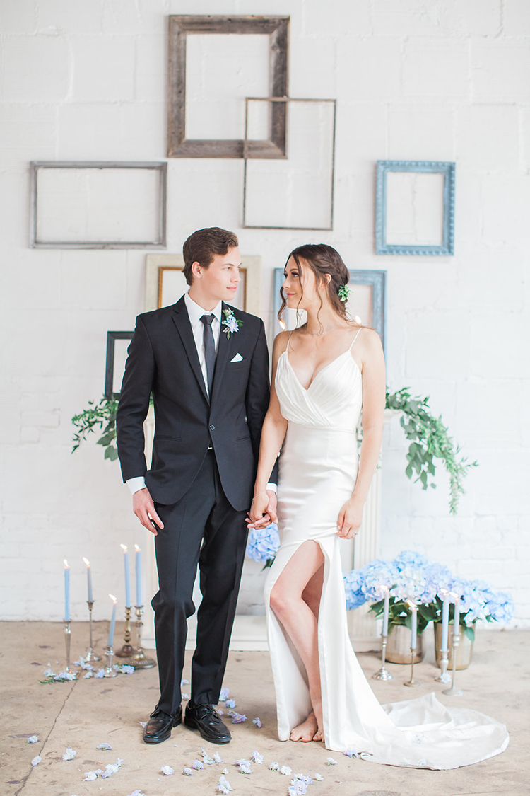 French Provencal Wedding Inspiration with Geometric Accents - photo by Natalie Bray Photography https://ruffledblog.com/french-provencal-wedding-inspiration-with-geometric-accents