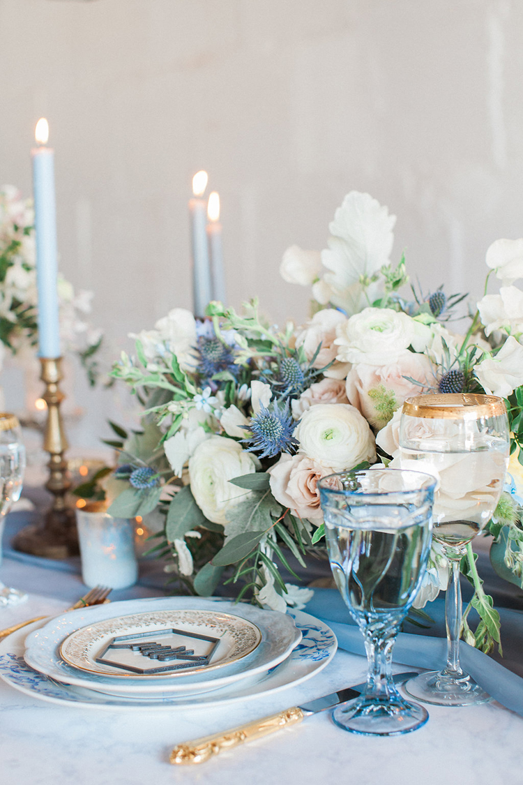 romantic weddings - photo by Natalie Bray Photography https://ruffledblog.com/french-provencal-wedding-inspiration-with-geometric-accents
