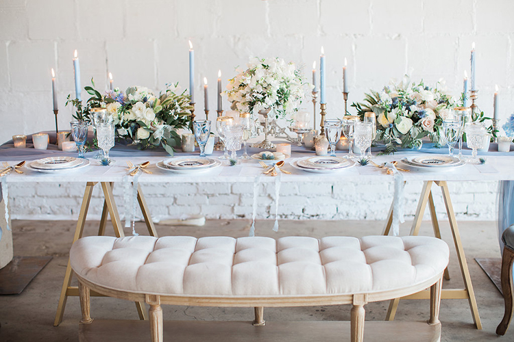 wedding seating - photo by Natalie Bray Photography https://ruffledblog.com/french-provencal-wedding-inspiration-with-geometric-accents