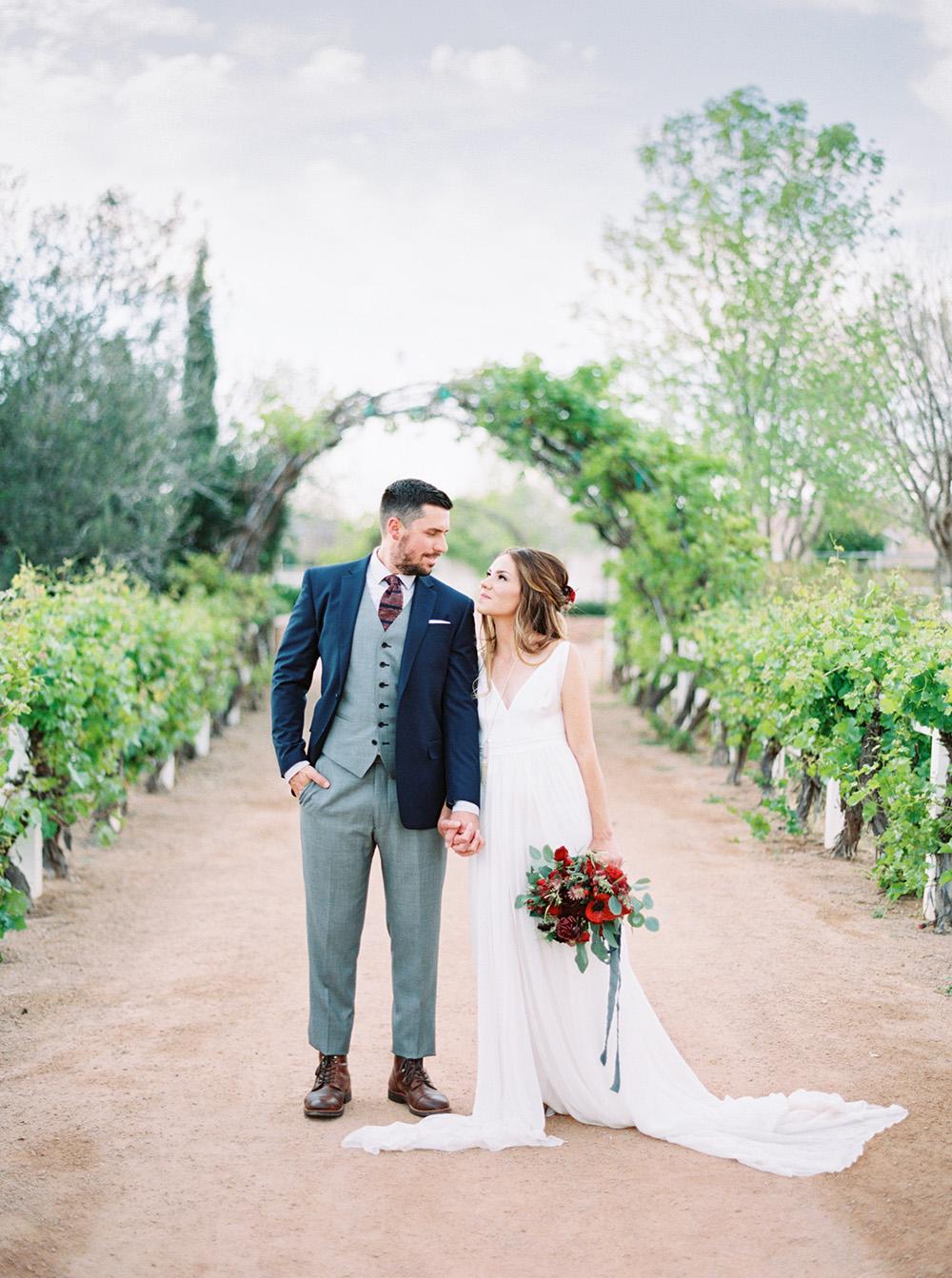 wedding inspiration - photo by Melissa Jill http://ruffledblog.com/fruit-filled-vineyard-wedding-inspiration