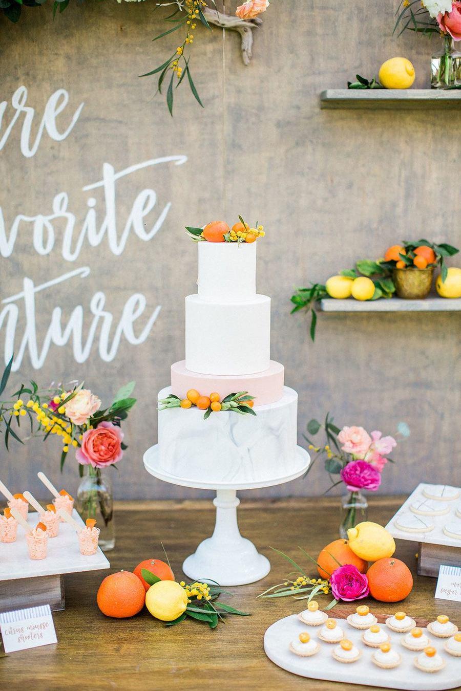 Fruit Wedding Decor Birdofafeather Glw