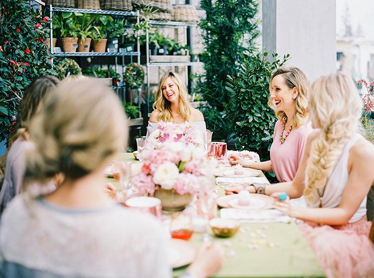 wedding ideas - photo by Danielle Poff Photography http://ruffledblog.com/fun-and-flirty-bridal-shower-inspiration