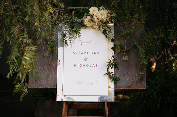 wedding signs - photo by Jerome Cole https://ruffledblog.com/fun-black-tie-warehouse-wedding-in-melbourne