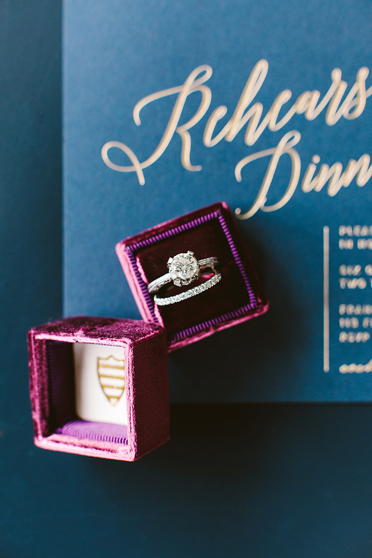 wedding rings - photo by Redfield Photography http://ruffledblog.com/fun-wedding-celebration-at-brooklyn-winery