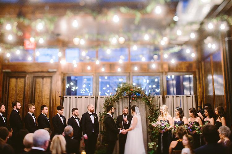 wedding ceremonies - photo by Redfield Photography https://ruffledblog.com/fun-wedding-celebration-at-brooklyn-winery