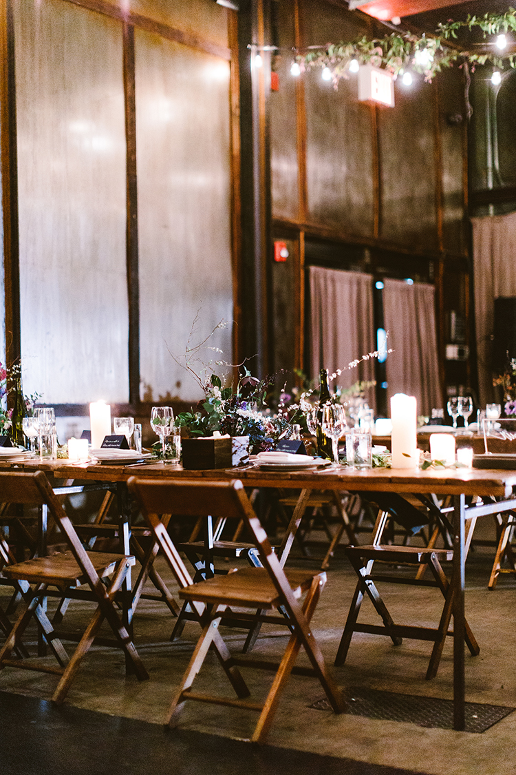 wedding receptions - photo by Redfield Photography http://ruffledblog.com/fun-wedding-celebration-at-brooklyn-winery