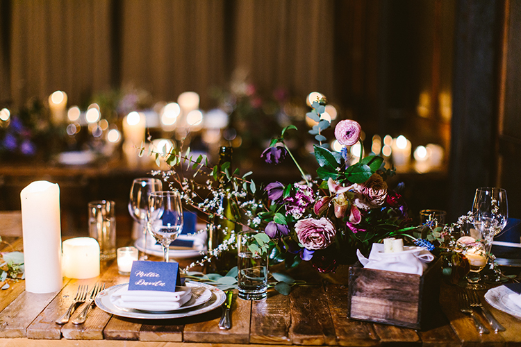tablescapes - photo by Redfield Photography http://ruffledblog.com/fun-wedding-celebration-at-brooklyn-winery