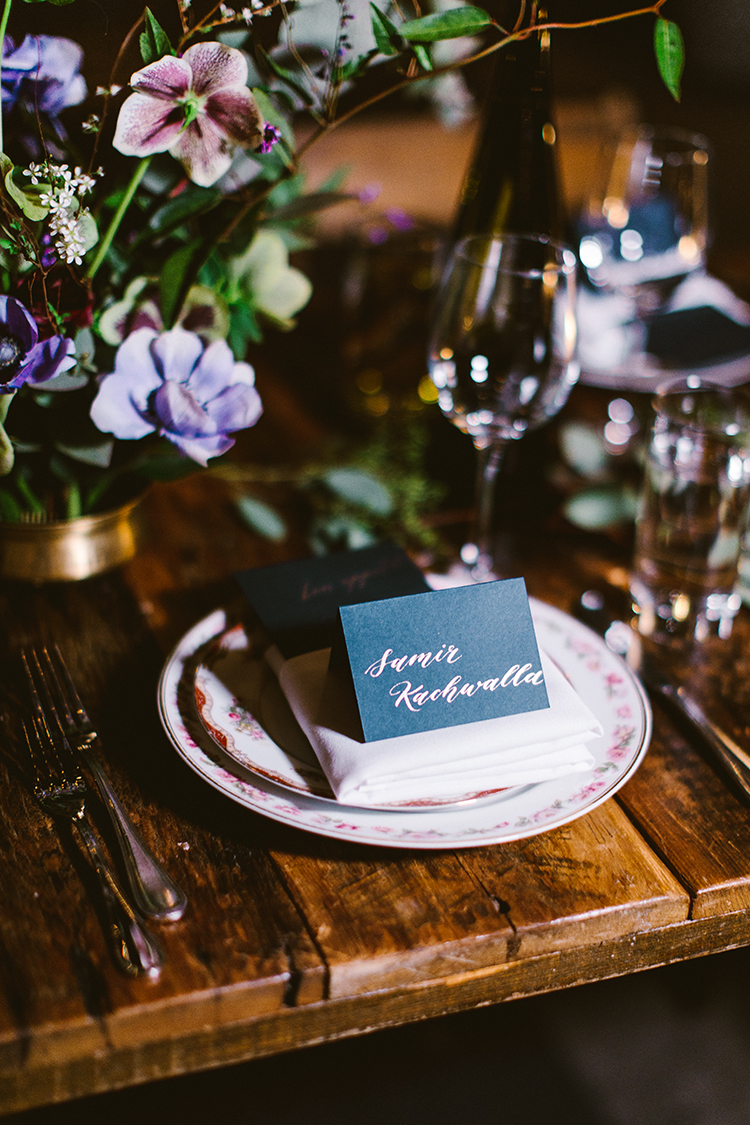 wedding tables - photo by Redfield Photography http://ruffledblog.com/fun-wedding-celebration-at-brooklyn-winery