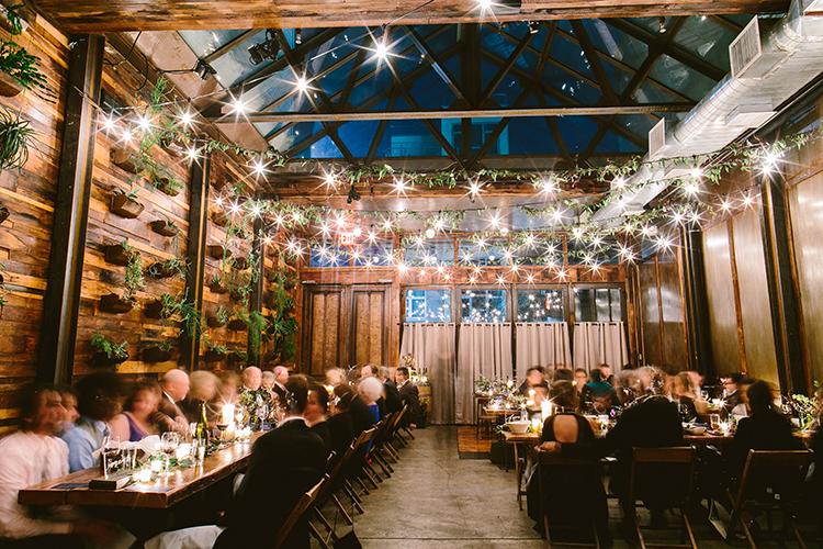 wedding receptions - photo by Redfield Photography https://ruffledblog.com/fun-wedding-celebration-at-brooklyn-winery