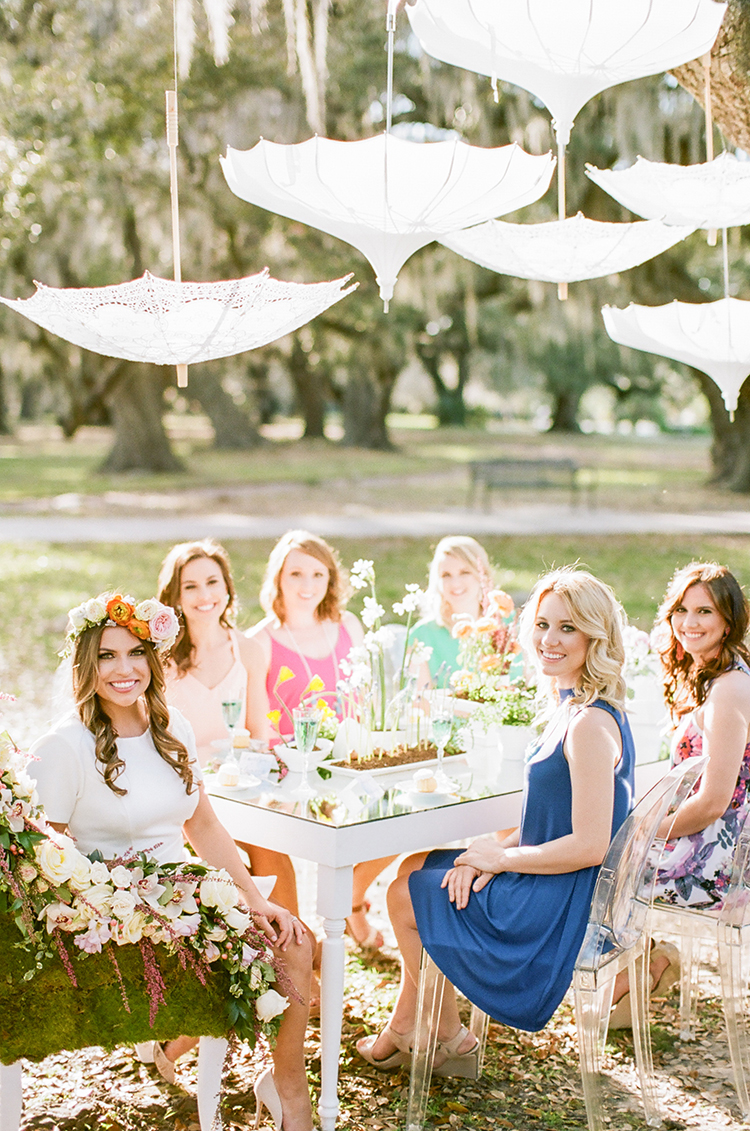 garden-bridal-shower-with-hanging-umbrellas-47