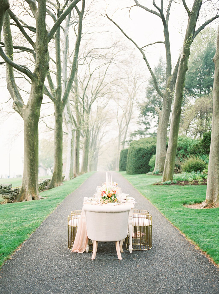 misty wedding inspiration - photo by Hillary Muelleck Photography http://ruffledblog.com/garden-estate-wedding-inspiration-with-delicate-poppies
