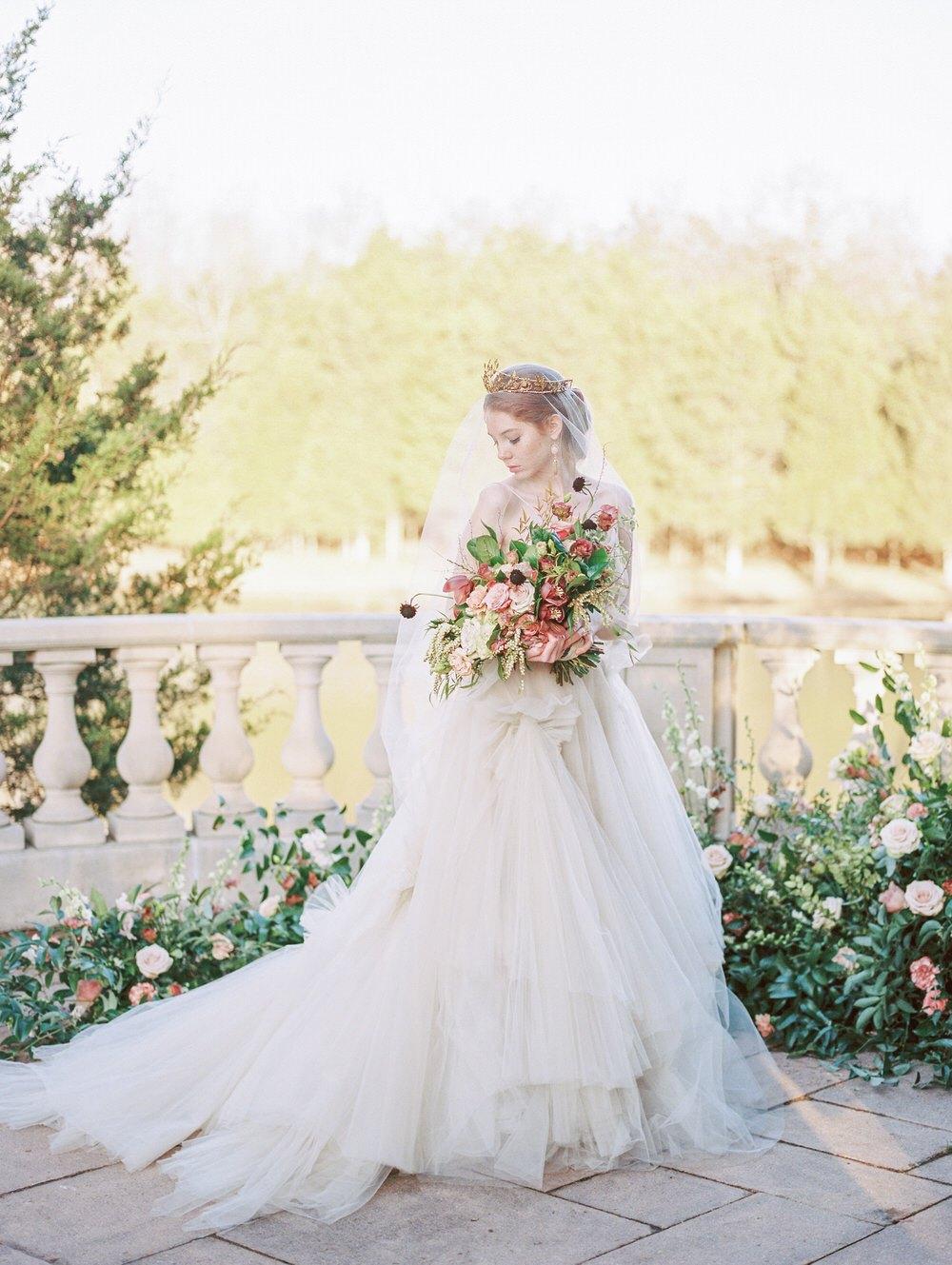 luxury Elaya Vaughn wedding gown