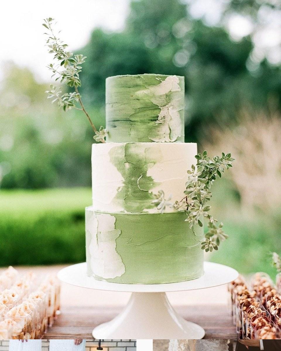 Greenery Cake01