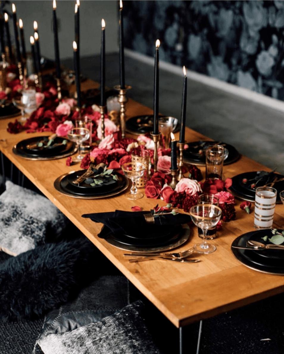 31 Hauntingly Beautiful Halloween Wedding Ideas Ruffled