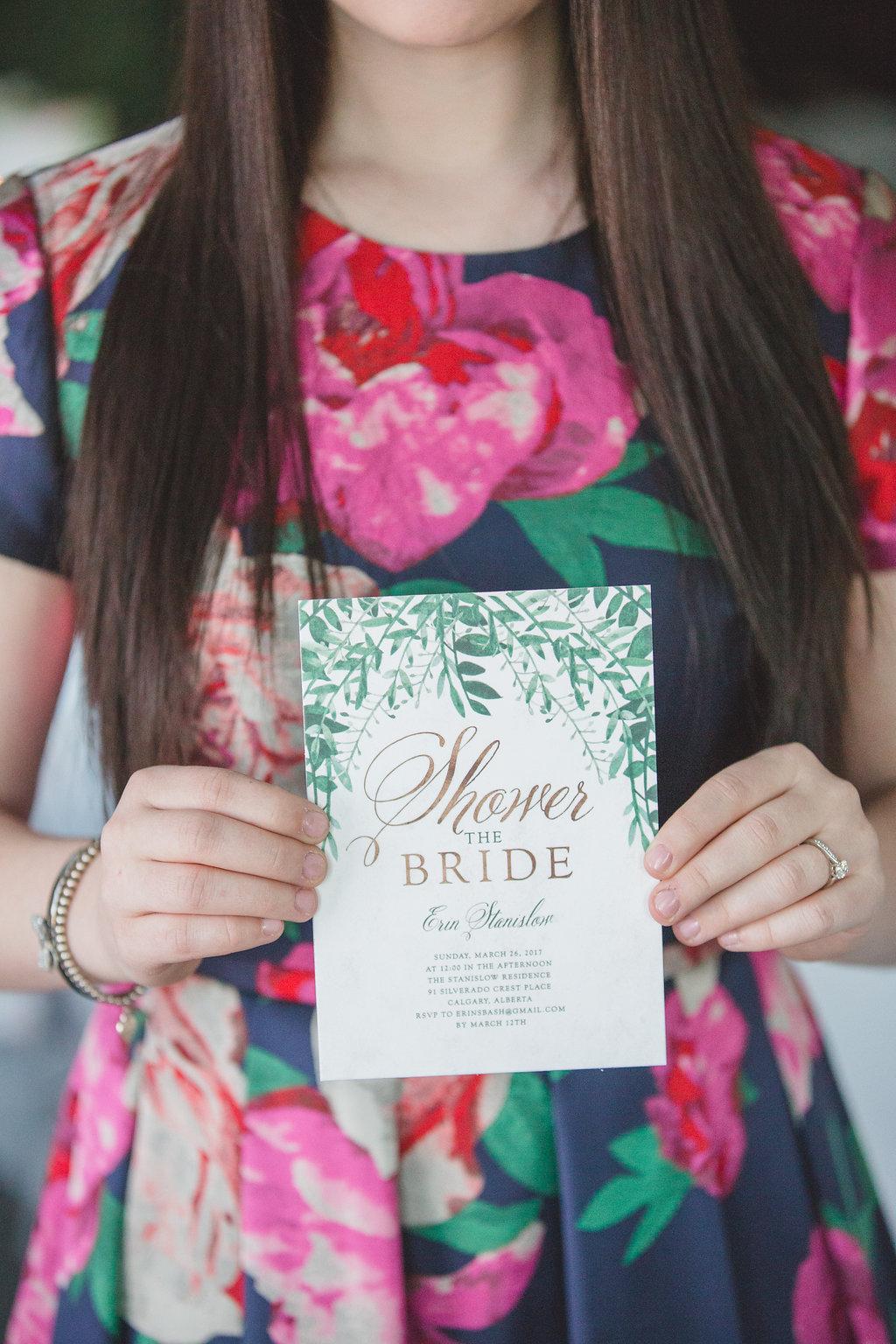 wedding paper goods - photo by Parrish House Photos https://ruffledblog.com/hawaiian-inspired-bridal-shower