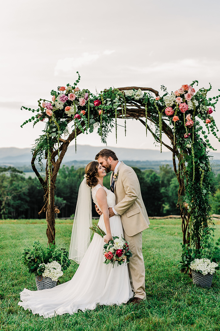 Heart Touching North Carolina Nursery Wedding - photo by Amilia Photography http://ruffledblog.com/heart-touching-north-carolina-nursery-wedding