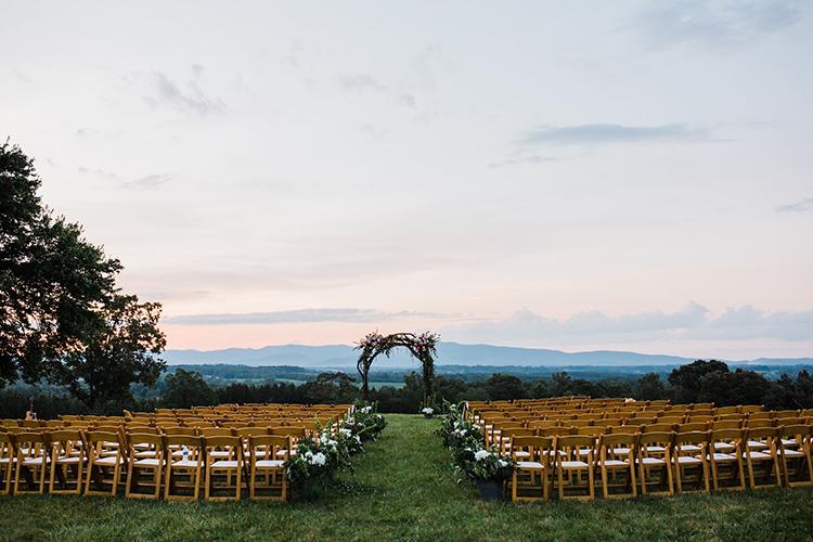 North Carolina mountain weddings - photo by Amilia Photography https://ruffledblog.com/heart-touching-north-carolina-nursery-wedding