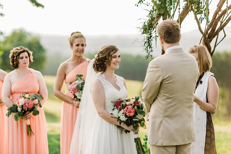 wedding ceremonies - photo by Amilia Photography http://ruffledblog.com/heart-touching-north-carolina-nursery-wedding
