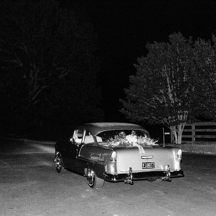 getaway cars - photo by Amilia Photography http://ruffledblog.com/heart-touching-north-carolina-nursery-wedding
