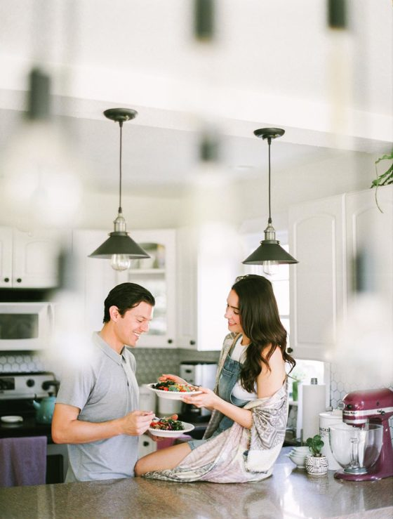 Keep Date Nights A Priority During Your Engagement with This Idea