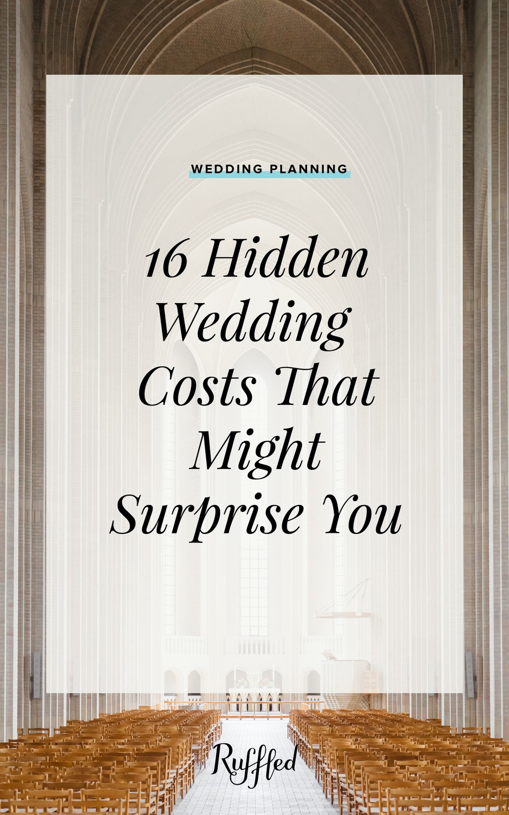 Hidden Wedding Costs