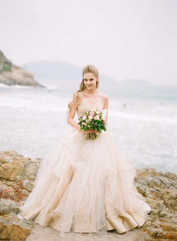 Vivian luk atelier wedding dresses ruffled for Can i rent my wedding dress
