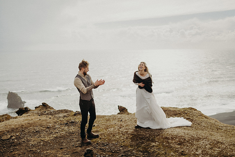wedding inspiration - photo by Jane Iskra http://ruffledblog.com/idyllic-engagement-inspiration-in-iceland