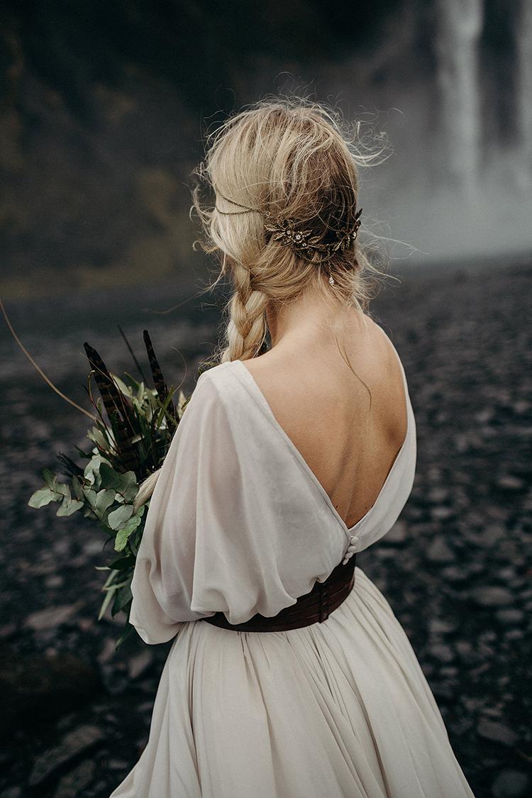 boho bridal inspiration - photo by Jane Iskra http://ruffledblog.com/idyllic-engagement-inspiration-in-iceland