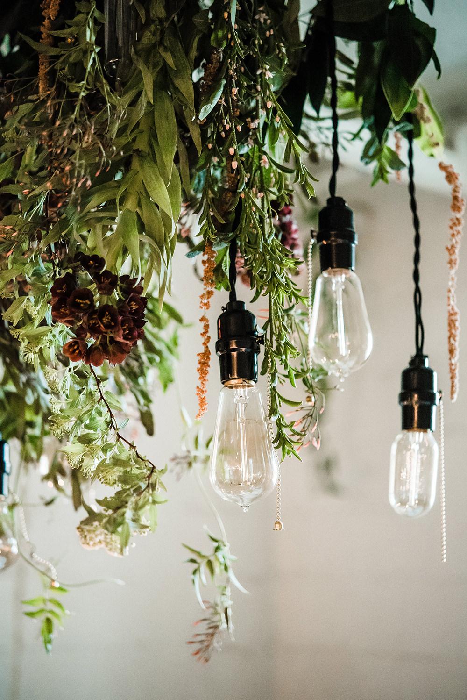 industrial wedding ideas - photo by Dawn Derbyshire Photography https://ruffledblog.com/industrial-candlelit-wedding-inspiration