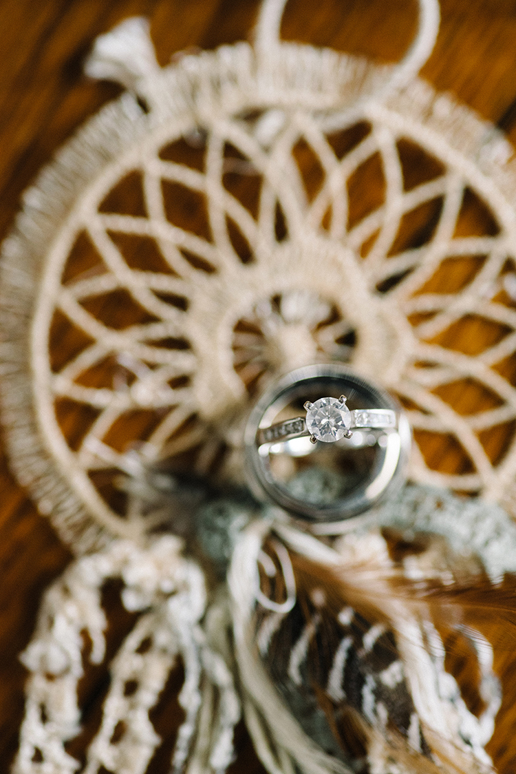diamond engagement rings - photo by The Kama Photography http://ruffledblog.com/industrial-modern-wedding-with-a-greenery-wall