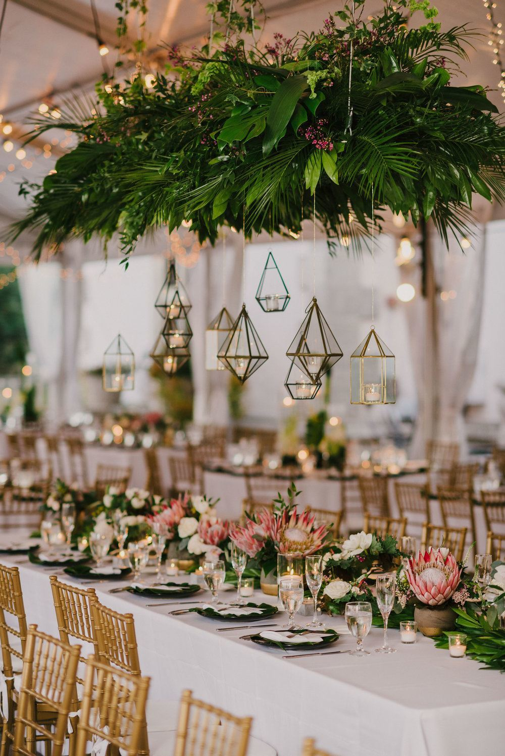 This Couple Brought Industrial Wedding Vibes To Their Miami