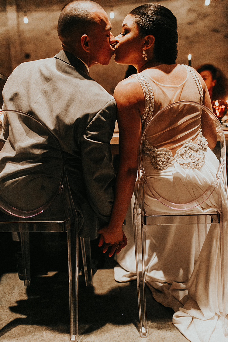 romantic wedding inspiration - http://ruffledblog.com/intimate-modern-romantic-wedding-celebration-the-reception