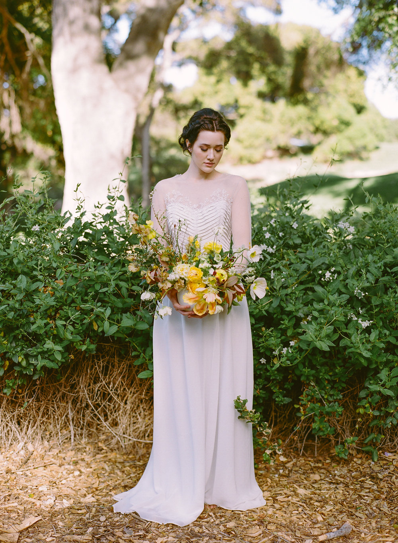 Intimate Rustic Chic Wedding Inspiration Ruffled - Rustic Chic Wedding Dress