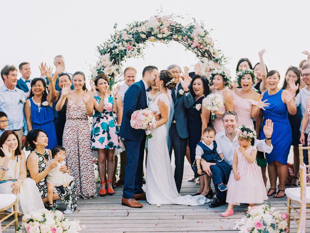 Intimate Thailand Resort Wedding Ruffled