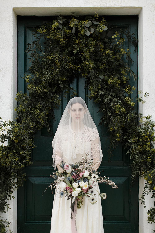 bridal fashion - photo by Monica Leggio https://ruffledblog.com/italian-island-elopement-inspiration