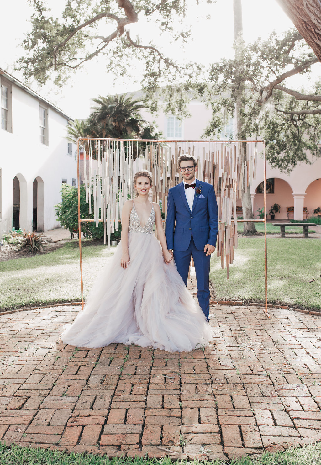 Jewel Toned Wedding Ideas with a Surprise Proposal - photo by Alondra Vega Photography http://ruffledblog.com/jewel-toned-wedding-ideas-with-a-surprise-proposal