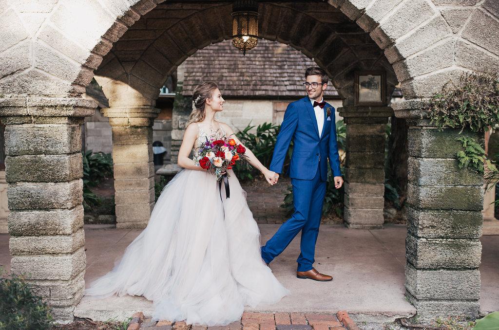 romantic wedding inspiration - photo by Alondra Vega Photography http://ruffledblog.com/jewel-toned-wedding-ideas-with-a-surprise-proposal