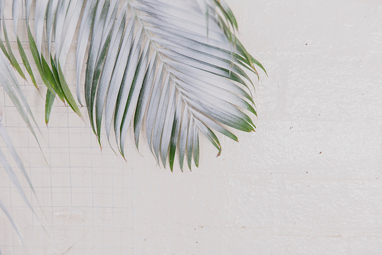 tropical inspired weddings - photo by Soda Photography http://ruffledblog.com/leafy-industrial-wedding-inspiration-with-a-wire-table-runner