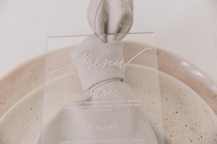 modern wedding ideas - photo by Soda Photography https://ruffledblog.com/leafy-industrial-wedding-inspiration-with-a-wire-table-runner