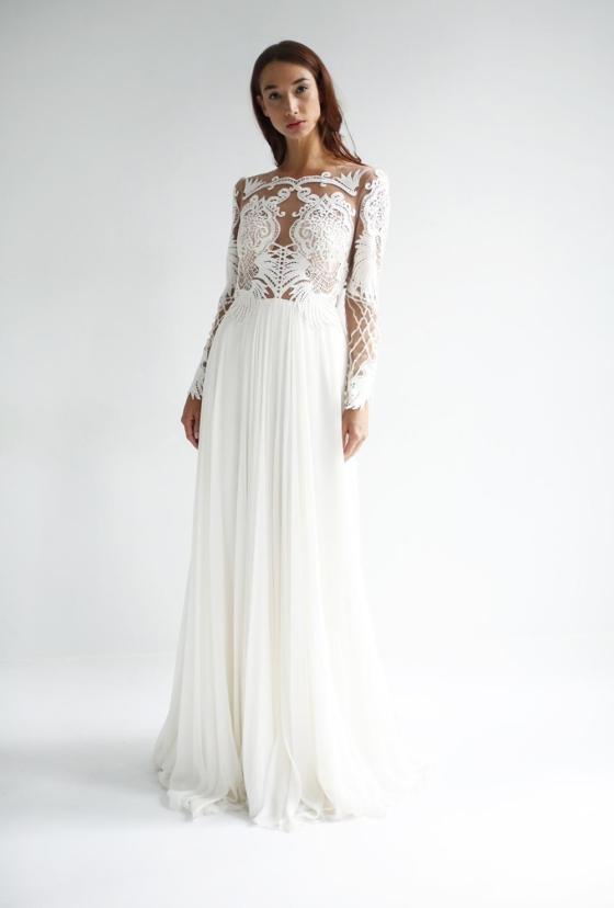 """Leanne Marshall Spring 2019 Bridal Collection: """"The Midnight Flower"""""""
