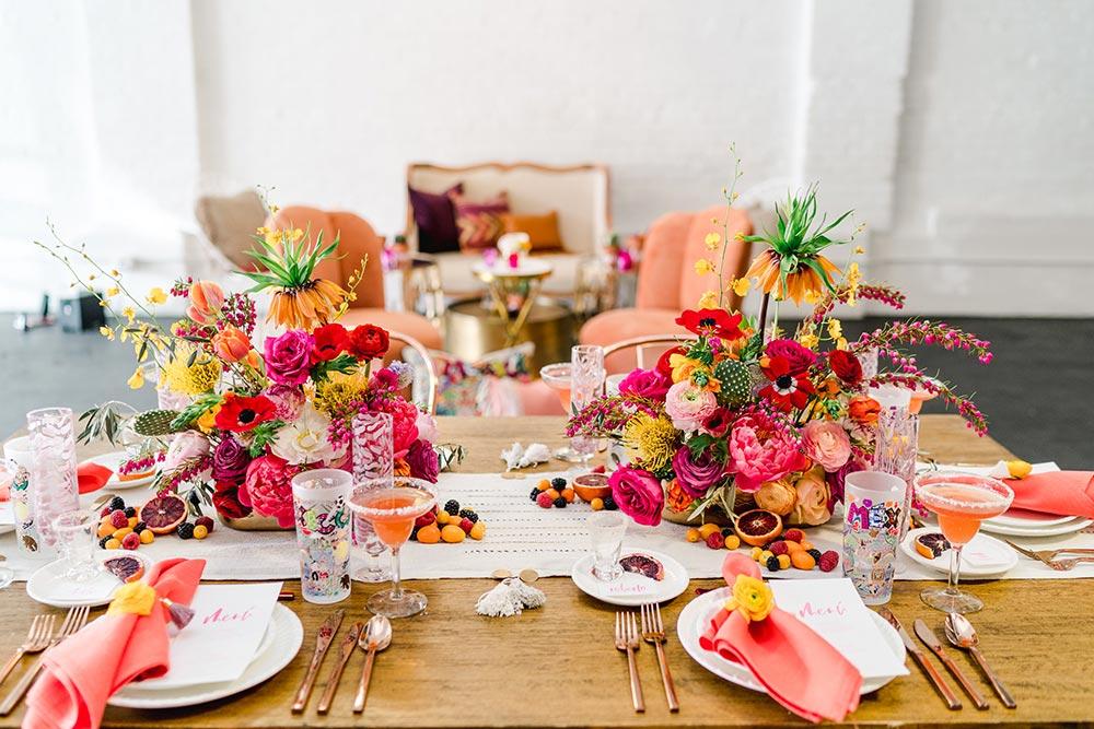 colorful Cinco de Mayo tablescape